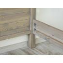 łóżko drewniane łaczenie śrub