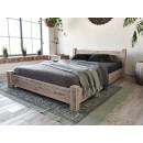 Łóżko drewniane rustykalne Country