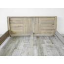 łóżko drewniane zagłówek