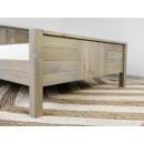 łóżko drewniane zanóżek