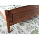 łóżko klaudia drewniane