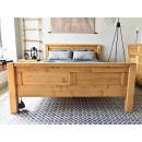 łóżko w stylu nowoczesnym