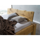 Dębowe łóżka