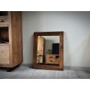 rustykalne lustro do przedpokoju