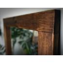 lustro z drewna sosnowego