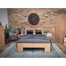 drewniane łóżko bukowe