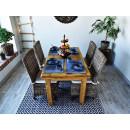 stół z drewna litego