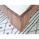 noga łóżko drewniane
