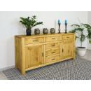 nowoczesna komoda drewniana do salonu