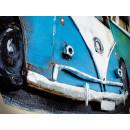 obraz metalowy 3d industrialny Volkswagen