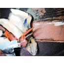 obraz metalowy 3d loftowy jeździec
