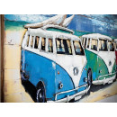 obraz metalowy 3d loftowy Volkswagen