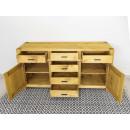 pojemna komoda drewniana do sypialni