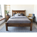 rama łóżka drewnianego