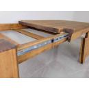 rozsuwany stół z drewna