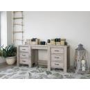 rustykalne biurko drewniane