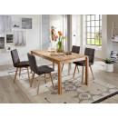 stół z drewna dębowego