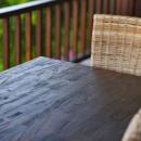 meble z drewna teakowanego
