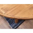 rozkładany stół z litego drewna