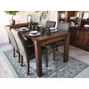 stół z drewna sosnowego