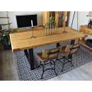 drewniany stol sosnowy