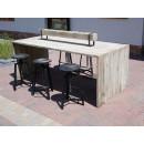Stół na taras i ogrodu
