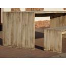 Stół z ławkami do altany
