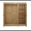 szafa trzydrzwiowa drewniana