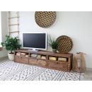 szafka z litego drewna pod tv