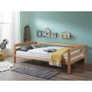 praktyczne bukowe łóżko