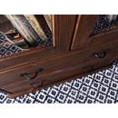 rustykalna witryna do salonu