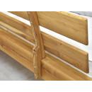 zagłówek łózka drewnianego