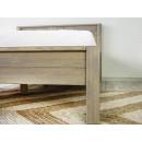 zanóżek łóżka drewnianego