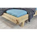 zanóżek łóżko drewniane