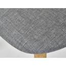 zbliżenie na tapicerkę krzesła