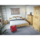 Łóżko z drewna świerkowego Mexicana 3 140