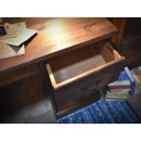 biurko sosnowe szuflada