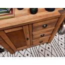 drewniana komoda świerkowa