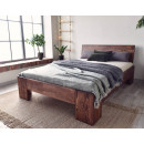 sosnowe łóżko marika