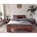 łóżko drewniane do sypialni