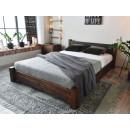 łóżko masywne
