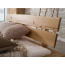 Stylowe dębowe łóżko