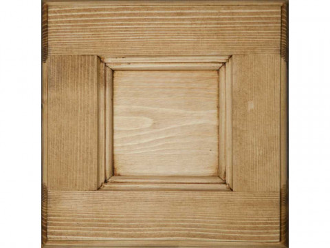 Lustro w ramie z drewna świerkowego Mexicana 1