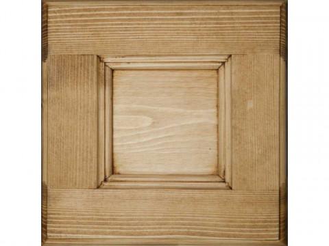 Szafa dwudrzwiowa z drewna świerkowego Mexicana 2