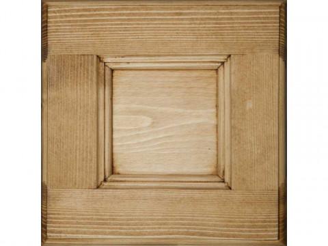 Łóżko z drewna świerkowego Mexicana 1 140x190