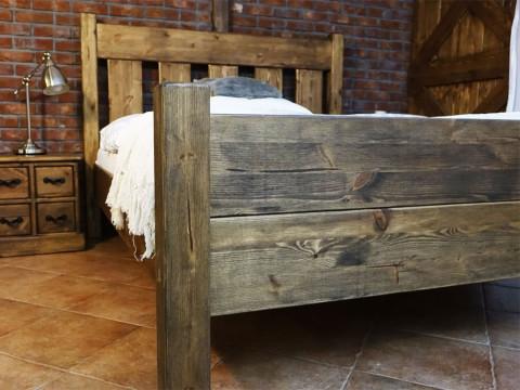 Łóżko Sosnowe Rustyk / Mieszko III 140