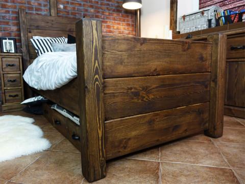 Łóżko Sosnowe Rustyk / Dobromir 160