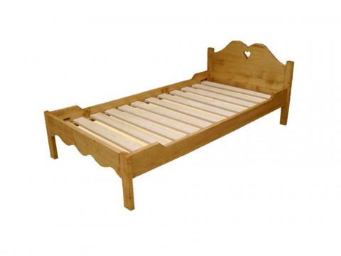 Łóżko z drewna świerkowego Mexicana 3 140x190