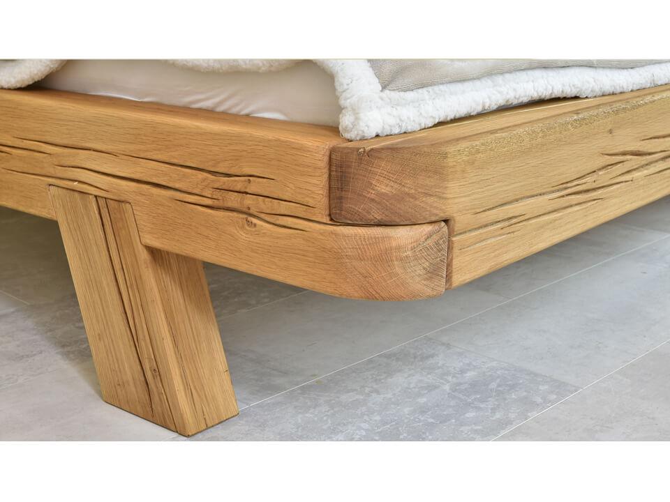 Łóżko dębowe Natural 1