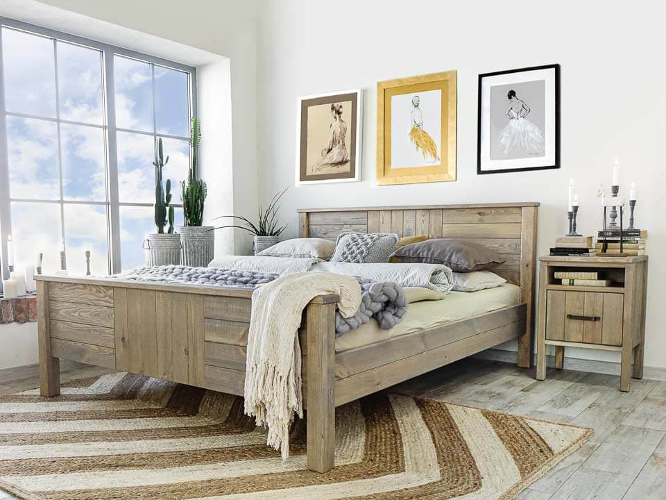 Łóżko drewniane Tennessee 4